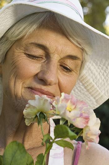 from Caring.com How Scent Can Spark Memories and Good Moods for Someone With Dementia
